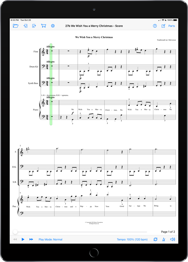 Music Experience B – Christmas by LeAnn Halvorson