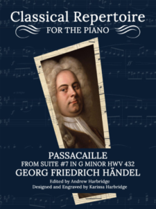 Passacaille by George Friedrich Händel Cover