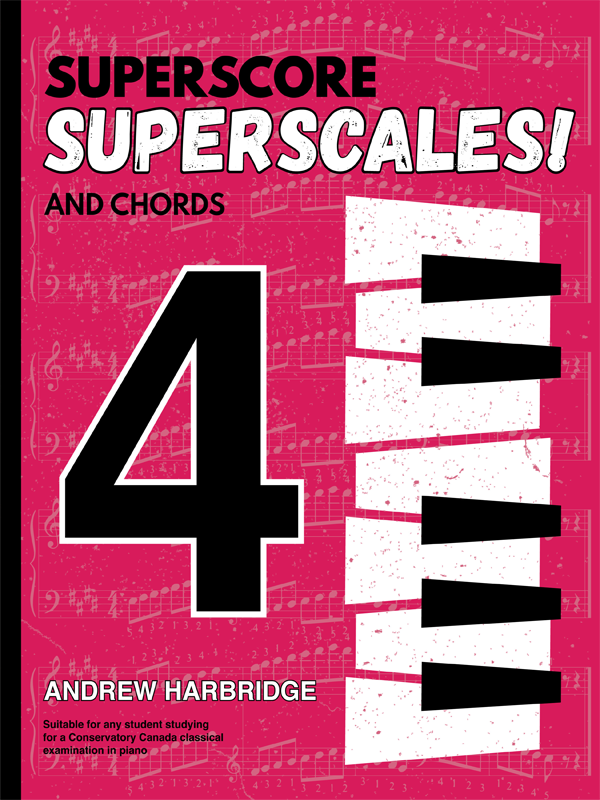 SuperScore SuperScales and Chords Book Four Cover
