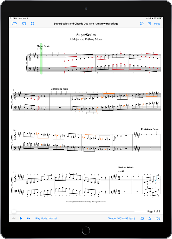 SuperScore SuperScales and Chords Book 4