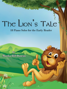 The Lion's Tale by Martha Hill Duncan Cover
