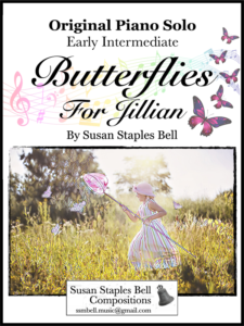 Butterflies for Jillian by Susan Staples Bell Cover