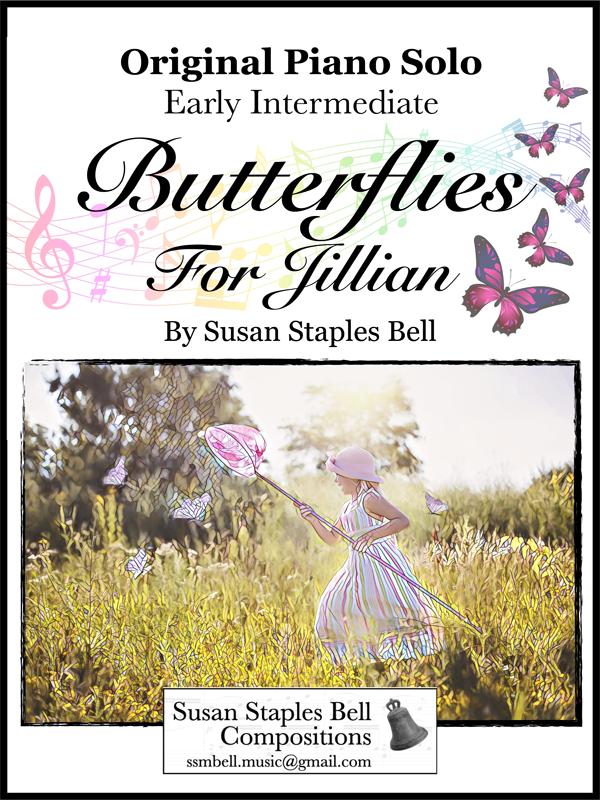 Butterflies for Jillian by Susan Staples Bell Cover