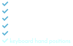 Keyboard Hand Positions