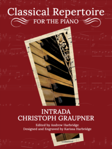 Intrada by Christoph Graupner Cover
