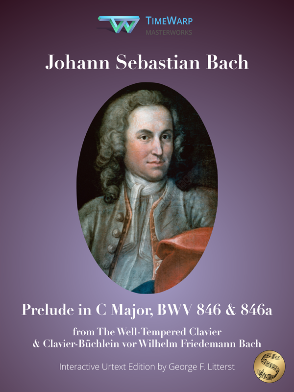 Prelude in C Major, BWV 846 & 846a by J. S. Bach Cover