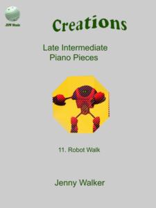 Robot Walk by Jenny Walker Cover