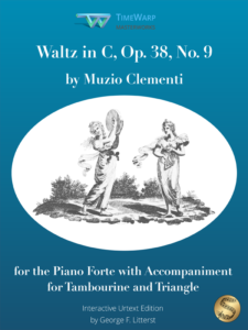 Waltz in C, Op. 38, No. 9 by Muzio Clementi Cover