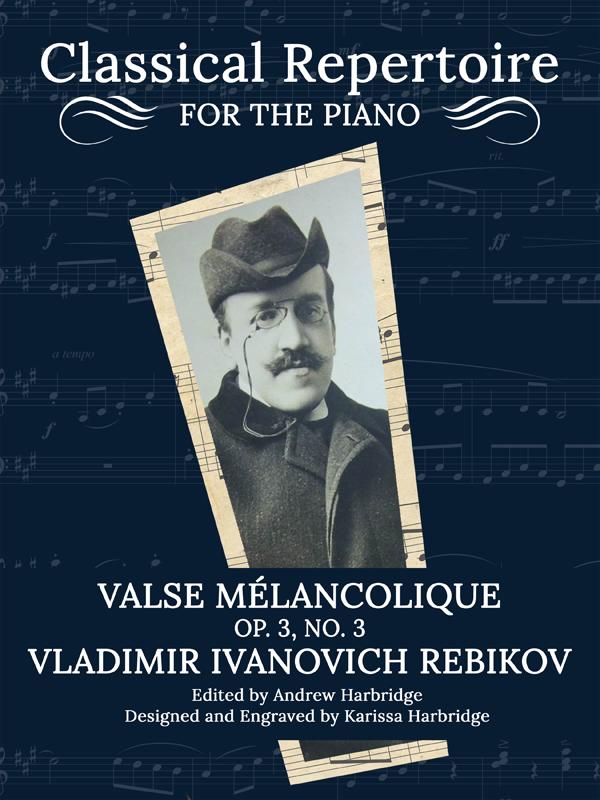 Valse mélancolique, Op. 3, No. 3 by Vladimir Rebikov Cover