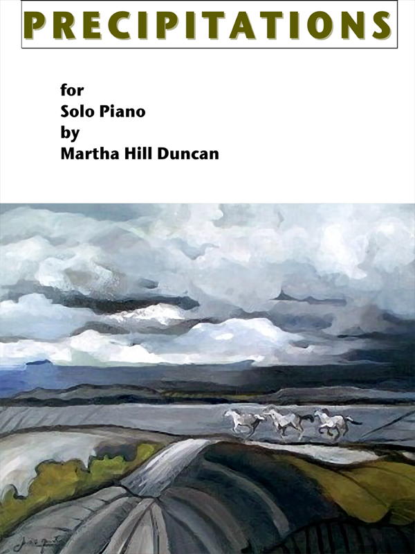 Precipitations by Martha Hill Duncan Cover