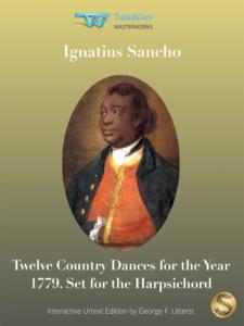 Twelve Country Dances by Ignatius Sancho Cover