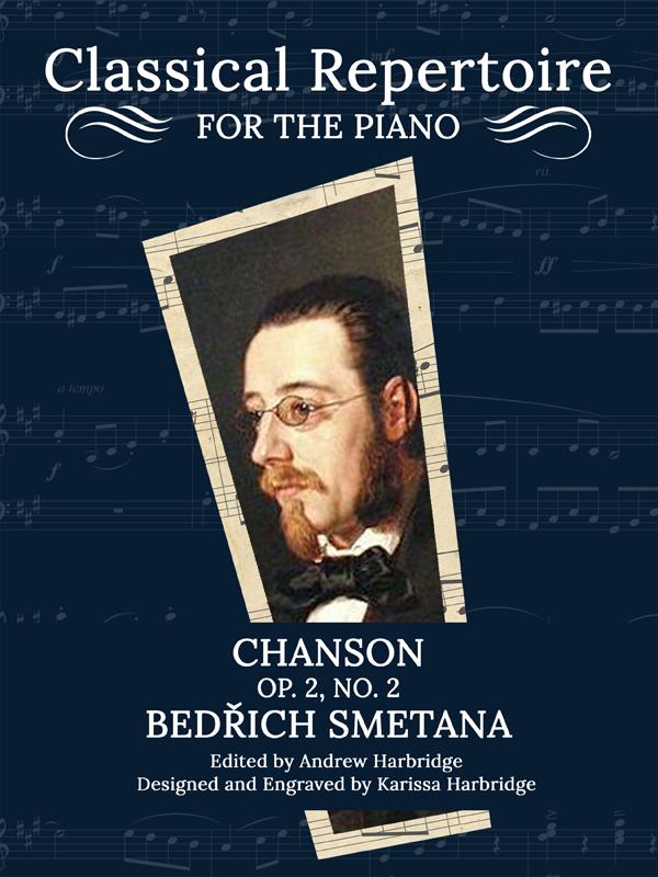Chanson, Op. 2, No. 2 by Bedřich Smetana Cover