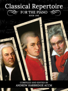 Classical Repertoire for the Piano Book One Cover