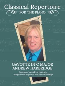 Gavotte in C Major by Andrew Harbridge Cover